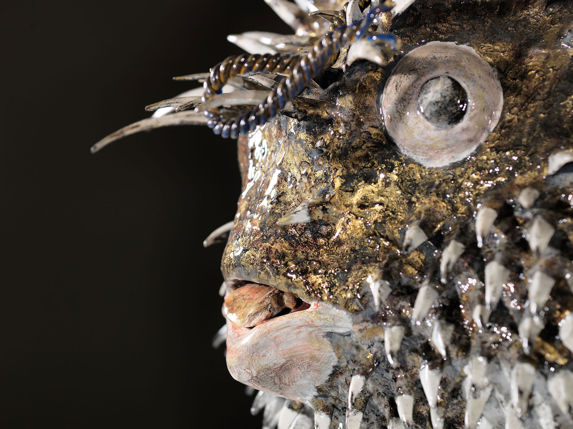 Isaia Zilli - Blowfish Face Detail