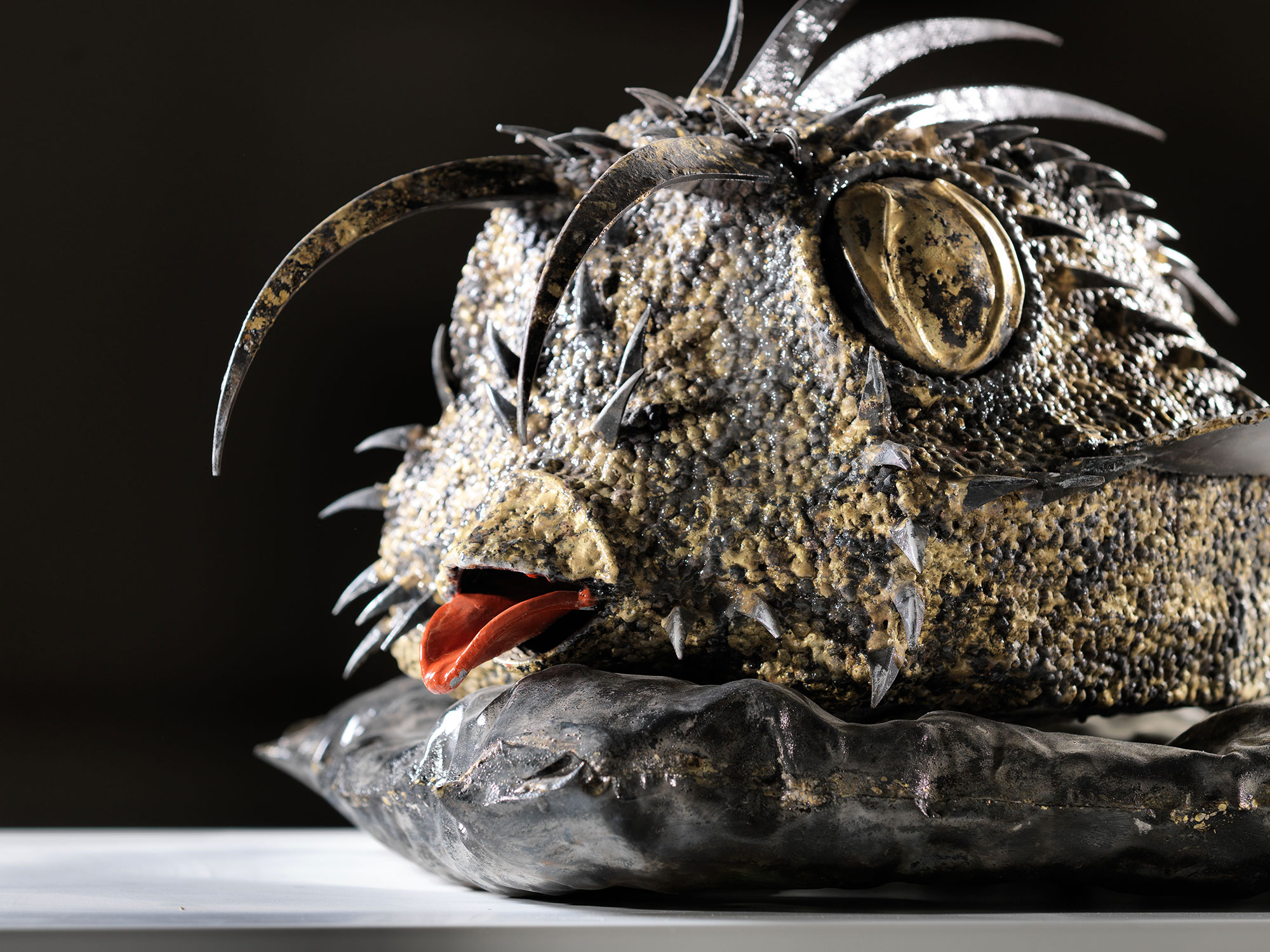 Isaia Zilli - Cowfish Detail